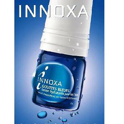 Innoxa Blue Eye Drops (Gouttes Bleues), Sterile Hydrating Eye Lotion 10Ml,
