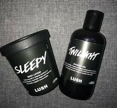 Lush Twilight Shower Gel 250g & Sleepy Body Lotion 215g