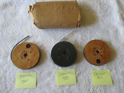 "{3} VINTAGE 50s EROTICA GIRLIE STRIPTEASE 8MM FILM MOVIE ""RED-HEADED RIOT"" ETC."