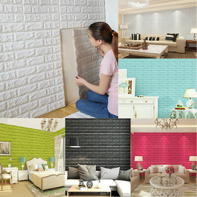 Arthome Brick 3D Wall Panels Peel and Stick Wallpaper for Living Room Home Lots