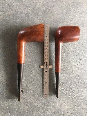 Six Nice Estate Tobacco Pipes