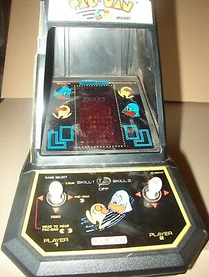 vintage table top 1980's mini video arcade game - Pac Man - good working cond.