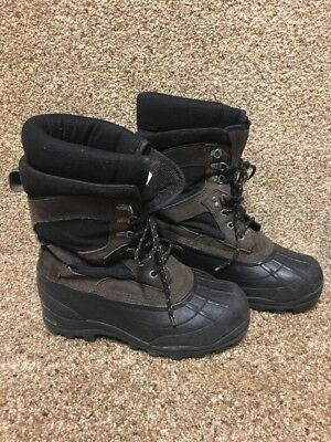 LaCrosse Outpost II 600802 Mens Black/Brown Outdoor Boots Size 9