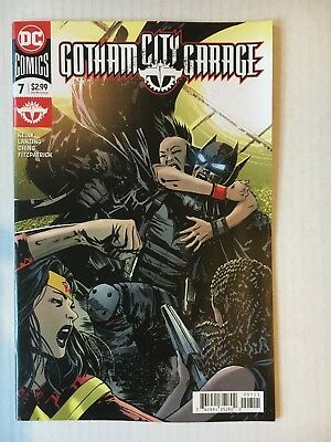DC Comics: Gotham City Garage #7 (2018) - BN - Bagged and Boarded