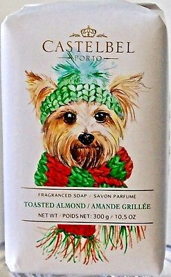 Castabel Porto Toasted Almond Scent Bar Soap Silky Yorkie Yorkshire Terrier Dog