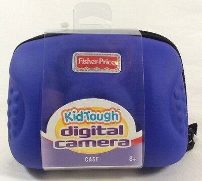 Fisher Price Kid Tough Digital Camera Case Blue - NEW K5889