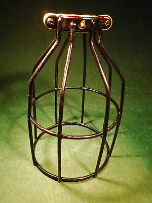 STEAMPUNK STYLE LAMP CAGE for LIGHT SOCKETS - FREE POSTAGE (10015)