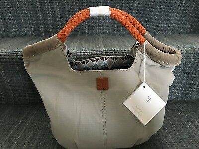 NEW with tags, SERENA AND LILY Pacific Tote in Pebble Gray, great size