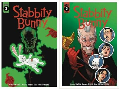 Stabbity Bunny #2 Cover A 1st Print + 1:7 Incentive Variant Scout Comics 2018