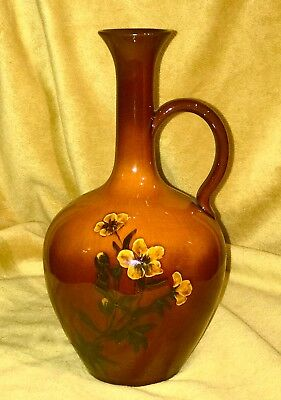 Reduced!!   Goldstone And Tiger's Eye Make This Rookwood Ewer Extra Special