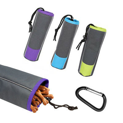 All Pet Solutions Dog Training Treat Pouch Snack Food Holder with Belt Clip