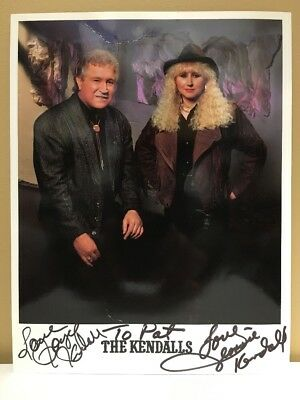 The Kendall's Country Music Group Autographed 8 1/2 x 11 Photo Reprint