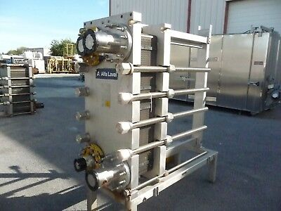 Alfa Laval Model MK15-BWFD Plate heat exchanger, welded plates, All Stainless