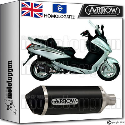 Arrow Silencer Urban Aluminium Dark Hom Sym Gts 125 2015 15 2016 16