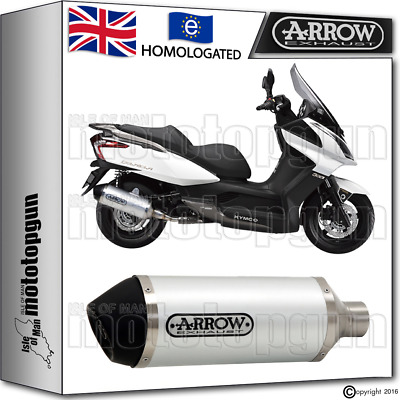 Arrow Exhaust Urban Stainless Steel Hom Kymco Downtown 125 2013 13 2014 14