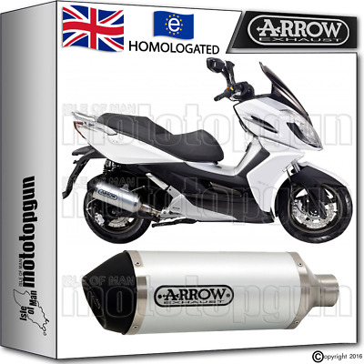 Arrow Silencer Urban Aluminium Hom Kymco K-Xct 125 2014 14 2015 15 2016 16