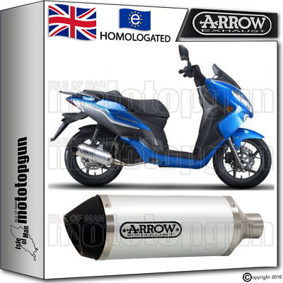Arrow Silencer Urban Aluminium Hom Keeway City-Blade 125 2015 15
