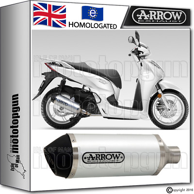 Arrow Silencer Urban Aluminium Hom Honda Sh 300 2015 15 2016 16