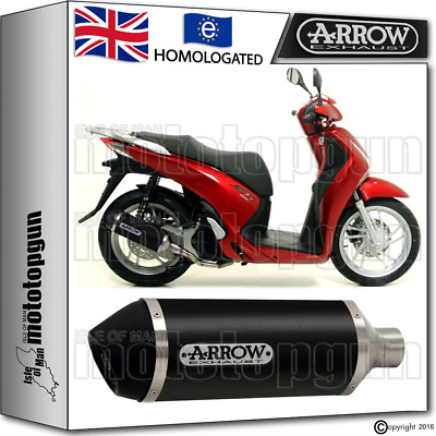 Arrow Silencer Urban Aluminium Dark Hom Honda Sh 150 Abs 2015 15 2016 16