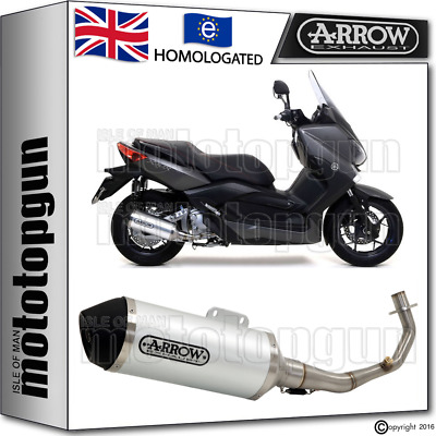 Arrow Full System Silencer Urban Aluminium Kat Yamaha X-Max 250 2015 15 2016 16