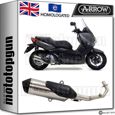 Arrow Full System Silencer Urban Nichrom Kat Yamaha Xmax 250 2011 11 2012 12