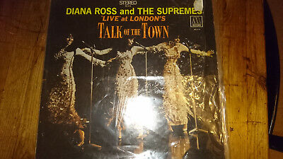 Diana Ross And The Supremes Live At London's Talk Of The Town Vinyl LP MS676
