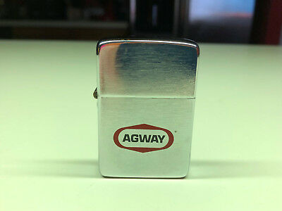 Collectible Park Cigarette Lighter AGWAY Decal Advertising Made In The USA