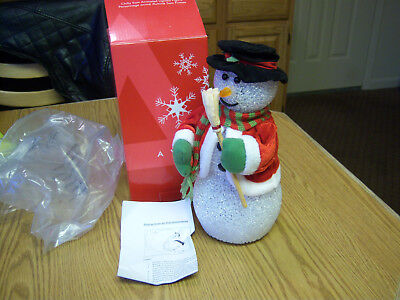 AVON CHILLY SAM Snowman  Brand New in box Never used a Vintage Avon find Retired