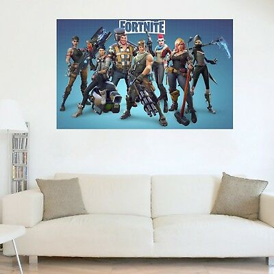 Fortnite Battle Royale Poster GLOSSY Wall Art Room Game PC PS4 Xbox 118cm x 75cm
