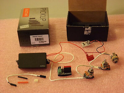 New 2010 EMG-81 Black, Active Pickup, Complete Kit, Never Installed, Made In USA