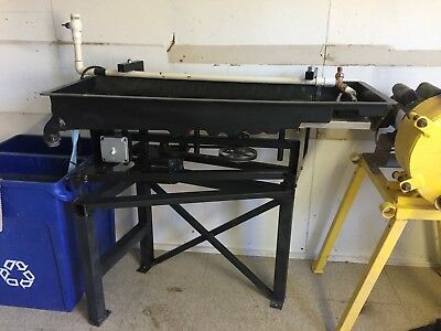 Gold Mining Equipment RP4 Shaker Table w/ Stand