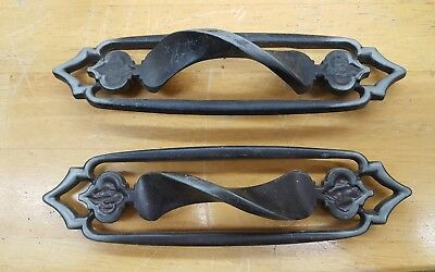 Amerock Monterey Collection Antique Silver Lot of 2 Handles BP-188-AS