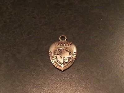 Ford Motor Car Company Engine Foundry Employee Pendant 1952