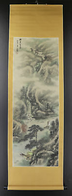 CHINESE HANGING SCROLL ART Painting Sansui Landscape  #E9311
