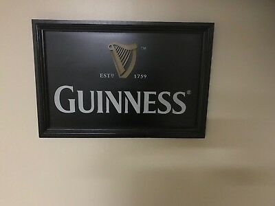 Guinness Wood Pub Bar Sign