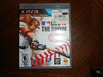 MLB 12: The Show (Sony PlayStation 3, 2012) PS3 Complete