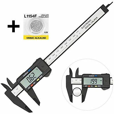 Digital Caliper Vernier Electronic Plastic Gauge Micrometer Ruler 150MM W/ LCD