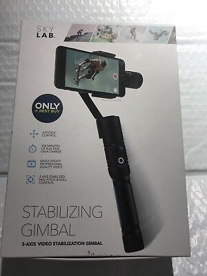 SkyLab - 3-Axis Gimbal Stabilizer for Mobile Phones