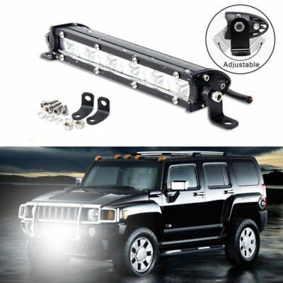 7'' 18W Spot LED Light Work Bar Lamp Driving Fog Offroad SUV 4WD Car Boat Truck