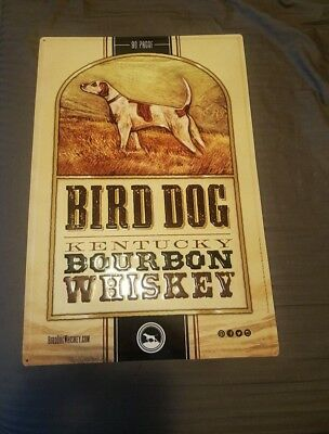 Bird Dog Kentucky Bourbon Whiskey New Metal Sign Bar Man Cave