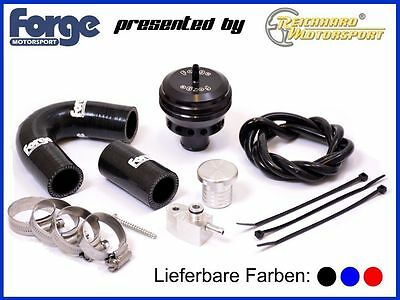 FORGE Blow Pop Off Ventil Kit offen Renault Clio 4 RS 1,6l Turbo