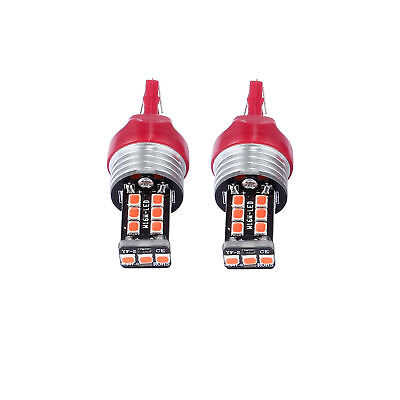 2PCS T20 W21/5W 7443 7440 CANBUS LED  Running Light Bulbs Turn Brake Tail Light