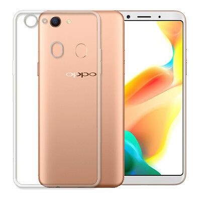 Soft Gel Clear Transparent Case Cover For Oppo A73 F5  AX5 A5 + Screen protector