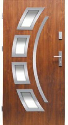 Front External Steel Door Wiked Premium Model 21 80cm or 90cm