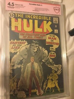 Incredible Hulk 1-6. No restoration, all graded Cgc,Cbcs. Stan lee sig. payments