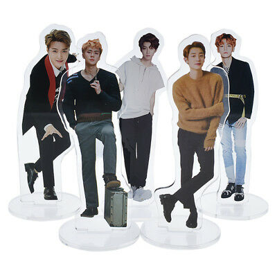 1pc Star LUHAN EXO Photo Acrylic  Mini Desk Stand Figure Doll Fans Great Gift