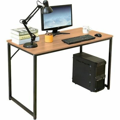 Home Office Computer Console PC Desk Table Workstation Wood Effect