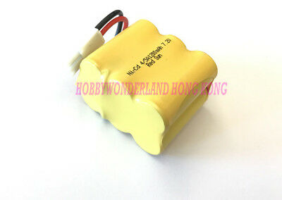 7.2V Ni-CD 1200mAh 4/5 AA (2*3) Rechargeable 6-Cell Battery Pack for RC Boat Car