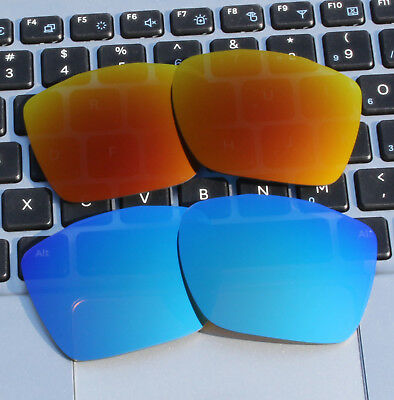 68106383a0 2 Pairs 2.0mm Thickness Polarized Replacement Lenses for-Oakley TwoFace XL