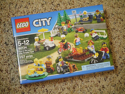 Lego City Fun in The Park 60134 Brand New Sealed